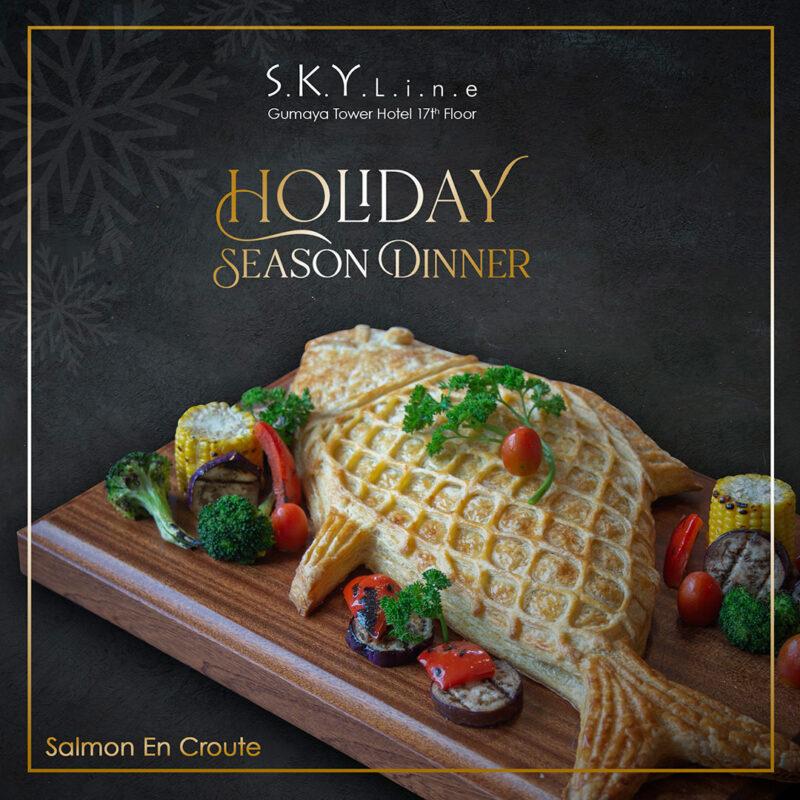 Skyline Holiday Season Dinner Banner